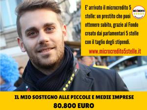 Vittorio informa della sua restituzione per microcredito